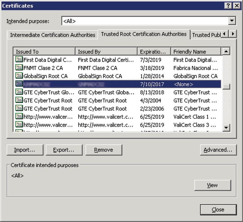 Establishing Weblogic Server Https Trust Of Iis Using A Microsoft